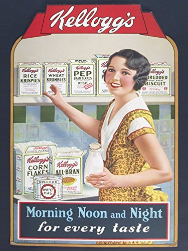 kelloggs-morning-noon-night-40-x-50-cm-tela-stampe-multicolore