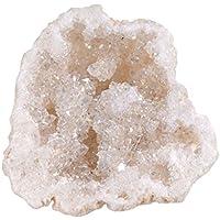 JOVIVI Bergkristall Naturstein 1 Stück Drusensegment Rohstück Druse klein Unregelmäßigen Naturstück Stein Dekoration preisvergleich bei billige-tabletten.eu