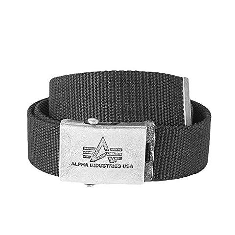Alpha Industries Belts: Heavy Duty Belt 4 cm black, size