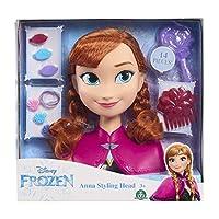 JP Disney Styling JPL32032 Frozen-Anna Styling Head, No Colour