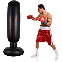 Outgeek Fitness Punching Bag Inflatable Heavy Punching Bag Boxing Target Bag for Children
