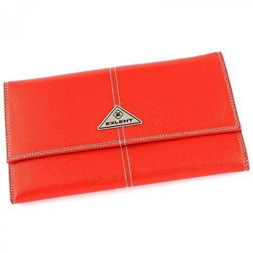 Secondo le donne s Purse-Borsetta in pelle con portamonete, in pelle, a portafoglio, A5011 Rosso