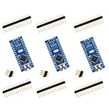 ELEGOO 3 Pièces Carte Nano V3.0 CH340 ATmega328P Micro Contrôleur Module Board Compatible avec Les projets Arduino IDE Conforme RoHS