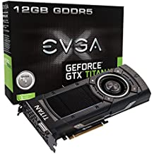 EVGA 12G-P4-2990-KR NVIDIA GTX Titan X 3,2S Grafikkarte (PCI-e 12288, 12GB GDDR5, VGA, DVI, HDMI, DisplayPort, 1 GPU)