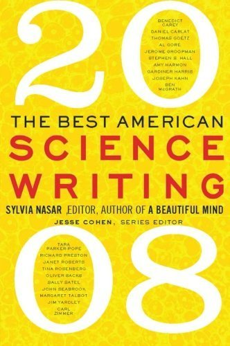 The Best American Science Writing 2008 by Sylvia Nasar (2008-09-09)