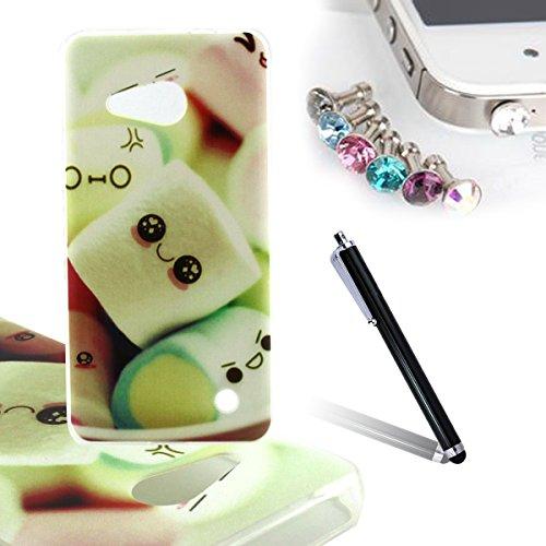 ANNNWZZD Soft TPU Case Tasche schutzhülle für Microsoft Lumia 550 Nokia N550 Cover / Case / Bumper Hülle Schutzhülle / Rückdeckel Schutzhülle / Handy Hülle / Ultra-thin soft shell,A07 A08