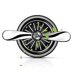 Idea Regalo - Movaty Deodoranti per Auto Diffusore di Profumo Automatico Senza Alcool Ventilazione Auto Diffusore Ideale per Automobile o RV e Buon Regalo per Auto Rimuove Fumo e Odori