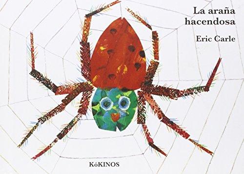 La araña hacendosa cartoné mediana par Eric Carle
