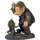 MC DEKO Troll # Zwergen-Papa mit Kind für den Garten