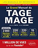Le Grand Manuel du TAGE MAGE - 220 fiches de cours, 15 tests blancs, 2000 questions + corrigés en...