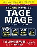 Le Grand Manuel du TAGE MAGE - 220 fiches de cours, 15 tests blancs, 2000 questions + corrigés en vidéo - édition 2019