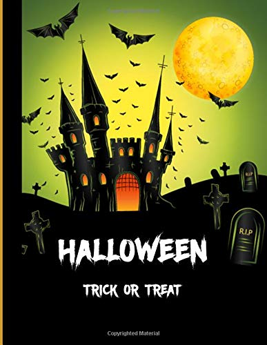 (Halloween  Trick or Treat: Halloween Planner|Happy Halloween| A Haunted House| Halloween Trick or Treat| Halloween Celebrations and Ghost Festival / 8.5