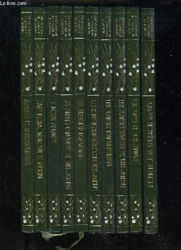 ENCYCLOPEDIE DE L'AMATEUR DE JARDINS - 10 VOLUMES par COLLECTIF