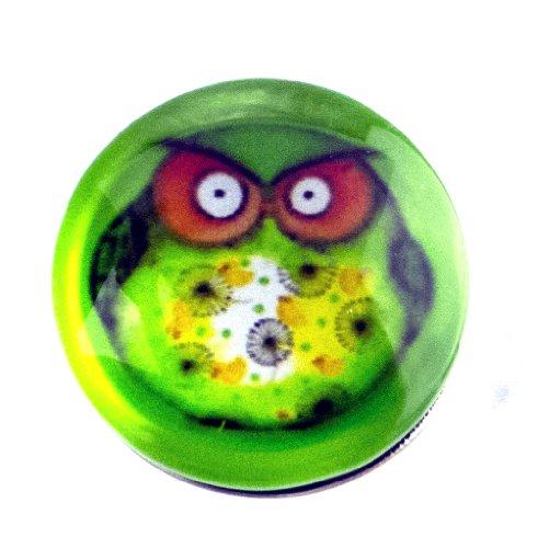 Botón de ckick Chunk Comic Diseño de Búhos decora tu joyas individualmente cerca de su sabor, gusto y humor ya que nuestros cristal estos son combinable con todos los sistemas ya sea broche, cadena, pulseras... Los colores no usar lejía de, los moti...