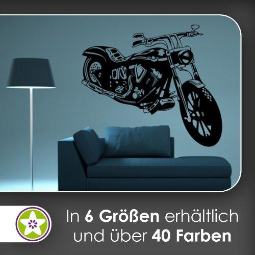 Motorrad Wandtattoo In 6 Größen   Wandaufkleber Wall Sticker