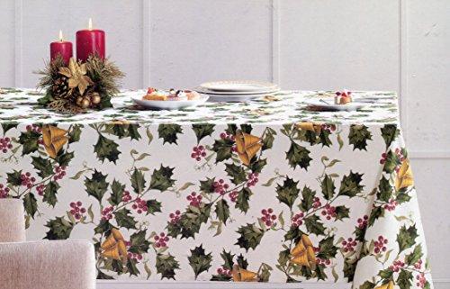 Cynthia Rowley Holly und Glocken Urlaub Tischdecke, 60-by-120Zoll länglich rechteckig