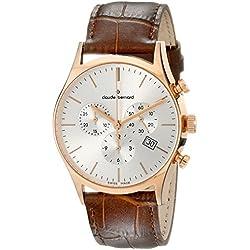 Claude Bernard 10218 37R AIR - Reloj de pulsera hombre, color Marrón