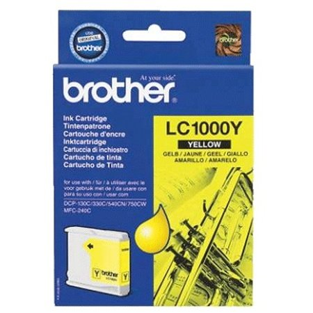 Price comparison product image Brother LC1000Y - yellow - original - ink cartridge