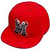 Belsen Kind Baby Teufel Ox Horn Baseball Kappen Cap Truckers Hat (rot)