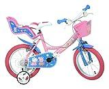 Dino Bikes 144r-pig Peppa Pig–Bicicleta, color rosa, 35,6cm)
