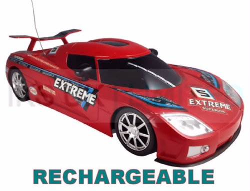 1-16-radio-remote-control-car-koenigsegg-ccx-headlights-rechargeable-fast-20-kph-colours-vary