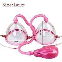 Pink L weiblich Milchpumpe Erweiterung Enhancement Brust Trainingsgerät Vergrößern 2Tassen. preisvergleich bei billige-tabletten.eu