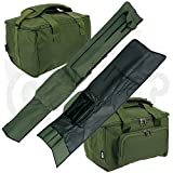 Best Tackle Bags - NGT Carp Fishing Quick Fish 3 Rod Holdall Review