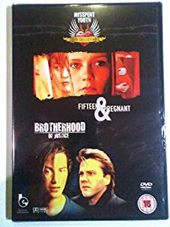 Fifteen and Pregnant + Brotherhood of justice Kirsten Dunst/Keanu Reeves DVD