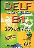 Nouveau Delf. Junior et scolaire. B1. Per le Scuole superiori. Con CD Audio (Objectif Deld)