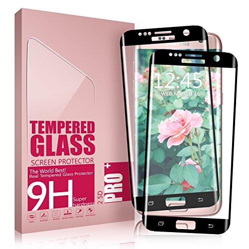 Protector de Pantalla Galaxy S7 Edge, Aonsen [2 Pack] 3D Full Coverage...