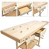 TecTake Holz Werkbank – XL - 6