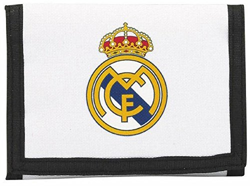 Portefeuille Real Madrid club Ronaldo Cr7 Zizou Article sous licence officielle