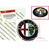 Alfa Romeo 50521448 - 46558973 Scudetto - Logotipo original (para parrilla del radiador de modelo