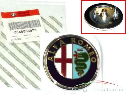 Original Alfa Romeo 147 Emblem Kühlergrill Scudetto - 50521448 - 46558973