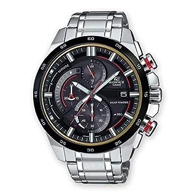 CASIO Reloj Cronógrafo para Hombre de Energía Solar con Correa en Acero Inoxidable EQS-600DB-1A4UEF de CASIO