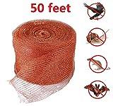 Rame per Lumache,Copper Mesh, per disinfestazione, mouse roditore Bat Snake lumaca controllo degli insetti, maglia di lavaggio, tessuto di riempimento fai da te, 15 metri, rame puro