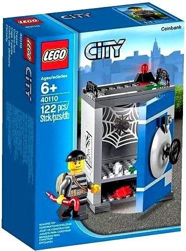 LEGO City Bank Münzen--Spiele BAU (Genre, Multi) (Lego-münzen)