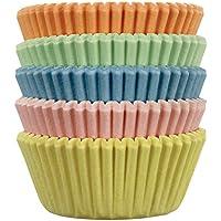 PME Pirottini di Carta per Cupcake e Muffin Piccoli, Color Pastello, 100 Pezzi