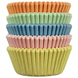 PME Pastel Paper Baking Cases for Cupcakes, Mini Size, Pack of 100