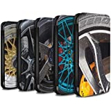 Stuff4 Coque/Etui/Housse Cuir PU Case/Cover pour HTC Desire 530 / Pack 20pcs Design / Jantes Alliage Collection