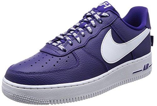 Preisvergleich Produktbild Nike AIR FORCE 1 '07 LV8 mens fashion-sneakers 823511-501_9.5 - COURT PURPLE / WHITE