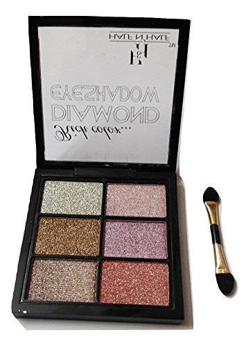 HalfnHalf Diamond Eyeshadow Pallete for Women