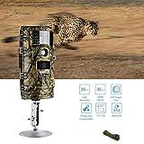 NWYJR Wildkamera Fotofalle Trail Wildlife Camera 20MP 1080P 30Fps Spielkameras 1920X1080p Für Wildlife Monitoring & Home Security IP 54 Wasserdichtes Design