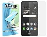 SDTEK Huawei P9 Lite Verre Trempé Protecteur d'écran Protection Résistant aux éraflures Glass Screen Protector Vitre Tempered