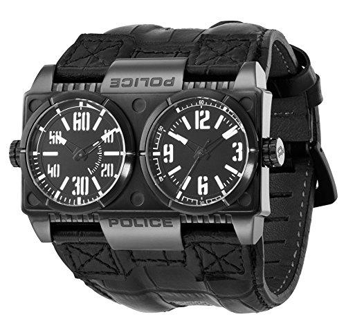 Police Herren-Armbanduhr Dominator P12899XSB-02