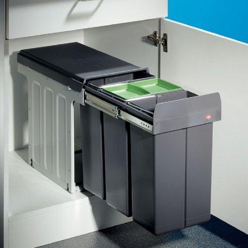 Wesco Bio Trio Maxi Profi 30 Einbau Abfallsammler Mülltrenner Abfallsystem  Küche
