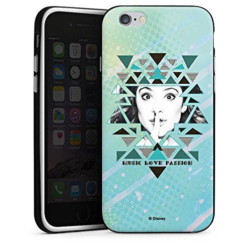 Apple iPhone X Silikon Hülle Case Schutzhülle Disney Violetta Fanartikel Merchandise Silikon Case schwarz / weiß
