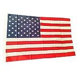 Bandiera americana, souvenir, dimensioni 1,52 x 0,91 m, a stelle e strisce USA,  lavabile in lavatrice e adatta per ogni stagione