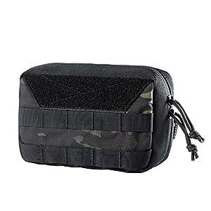 OneTigris Molle EDC Tasche, Cordura Nylon Militäry Werkzeugtasche Taktische Zubehörtasche für Gadget-Dienstprogramm…