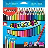 Maped 832048 Dreikant-Buntstift COLOR'PEPS, 48er Kartonetui